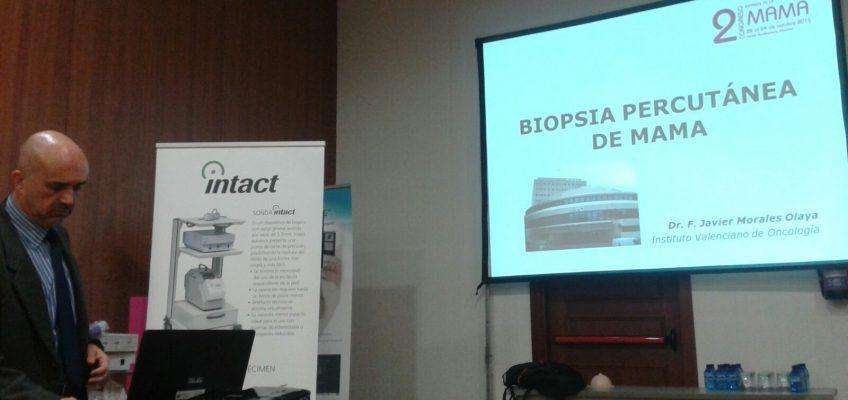 La Unidad de Mamografia y Ecografia en el 2º  Congreso Español de Mama